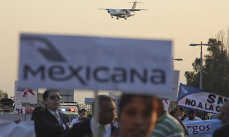 El 6 de septiembre de 2010 la aerolínea entró en concurso mercantil. (Foto: Cuartoscuro)