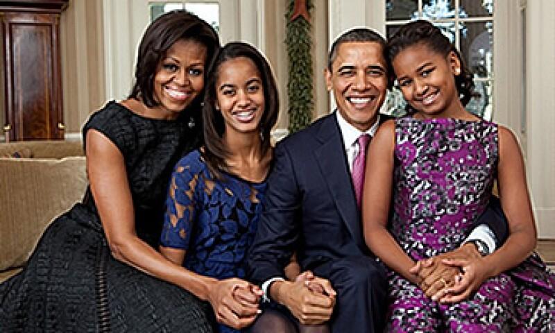 Una de las fotos que aparece en el pizarrón de Michelle Obama. (Foto: Cortesía)