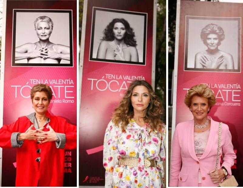 La tarde de este lunes se cortó el listón de la exposición itinerante de esta iniciativa contra el cáncer de mama, la cual se expone sobre Paseo de la Reforma.