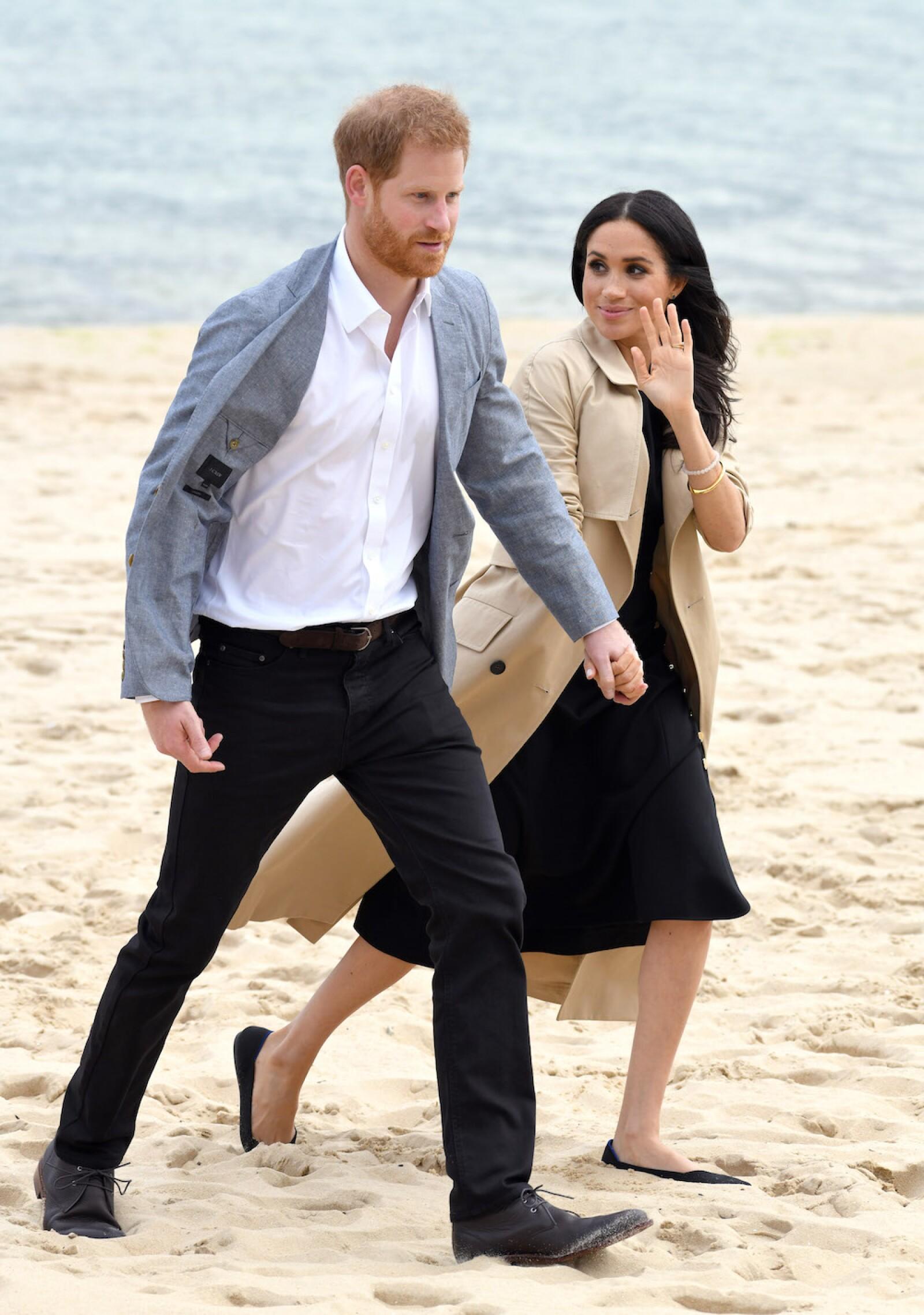 Harry y Meghan en Melbourne