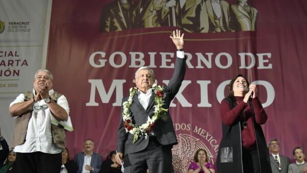 AMLO en Xalapa