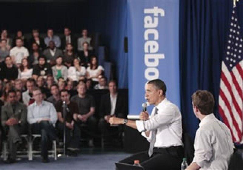 El cabildeo de Silicon Valley ha dado resultado: Obama declaró que EU es el país de Google y Facebook. (Foto: AP)