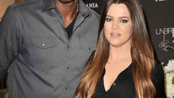 Pese a que han estado separados desde hace semanas, los esposos acudieron como pareja y fueron vistos en la zona VIP, donde estaba gran parte de la familia Kardashian.