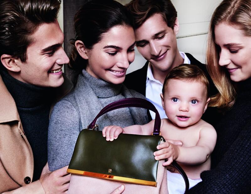 Por primera vez, los latinoamericanos trabajaron juntos en la publicidad de otoño-invierno 2015 de la firma.