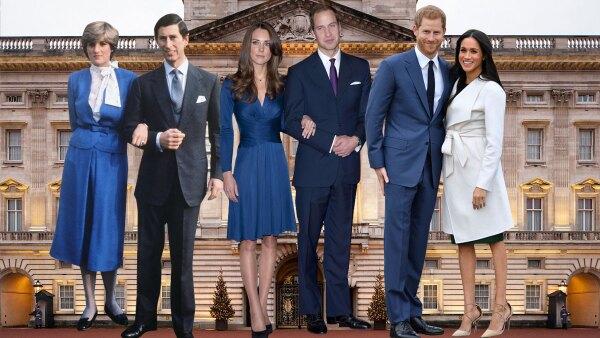 3 príncipes, 3 compromisos y 3 formas diferentes de anunciarlo.