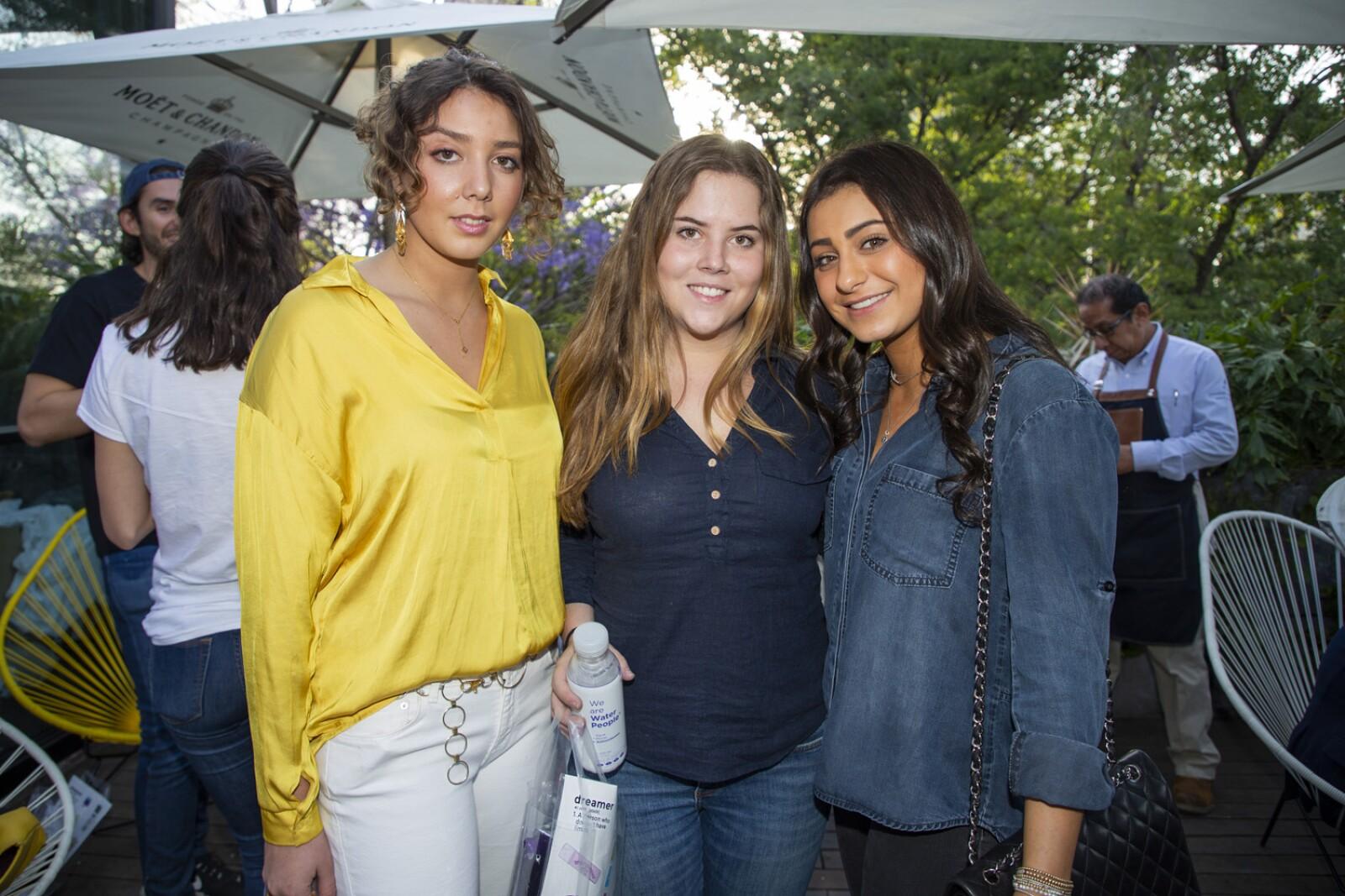Paulina Sanchez, Marene Arce, Michelle Sarquis