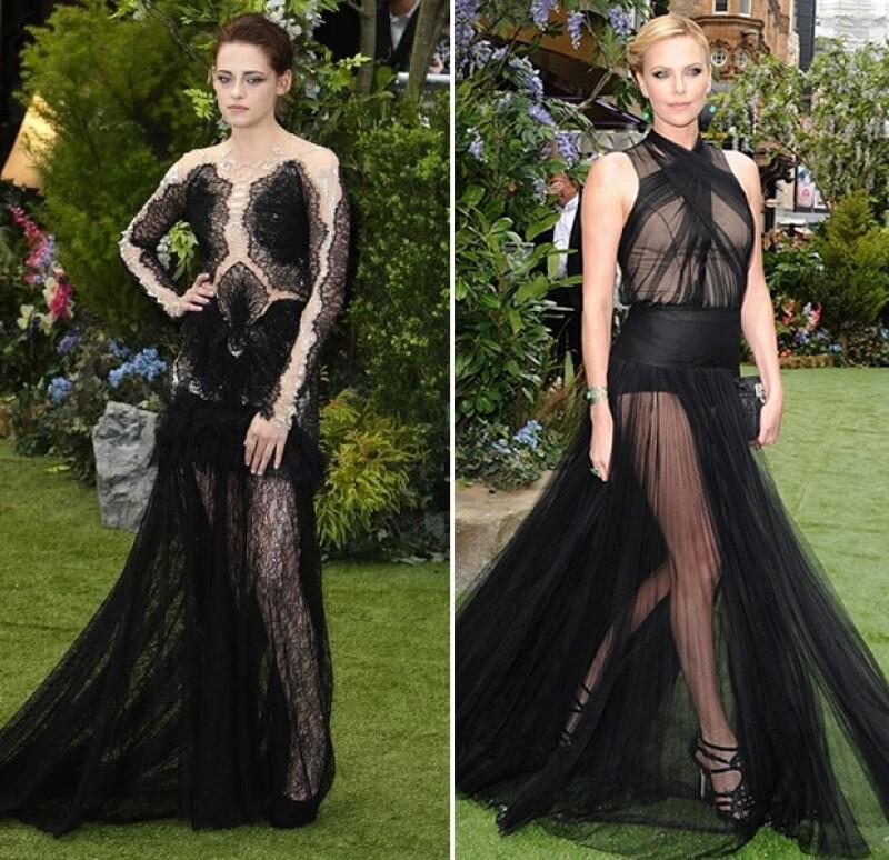 Dos vestidos muy parecidos, ¿cuál prefieres?