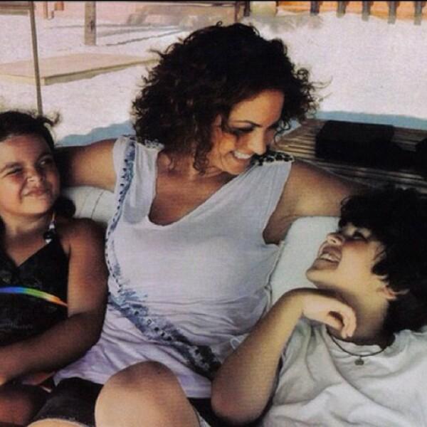 La hija de la cantante cumplió hace un par de días 11 años y, para festejarlo, la intérprete publicó emotivos mensajes en sus redes sociales.