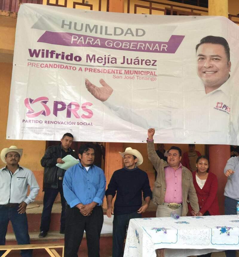El ataque al candidato tuvo lugar cuando regresaba de un evento en la zona de La Cañada.