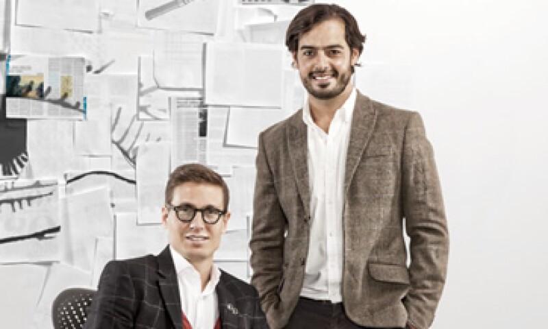 Javier Okhuysen y Carlos Orellana fundadores de salaUno. (Foto: Duilio Rodríguez)