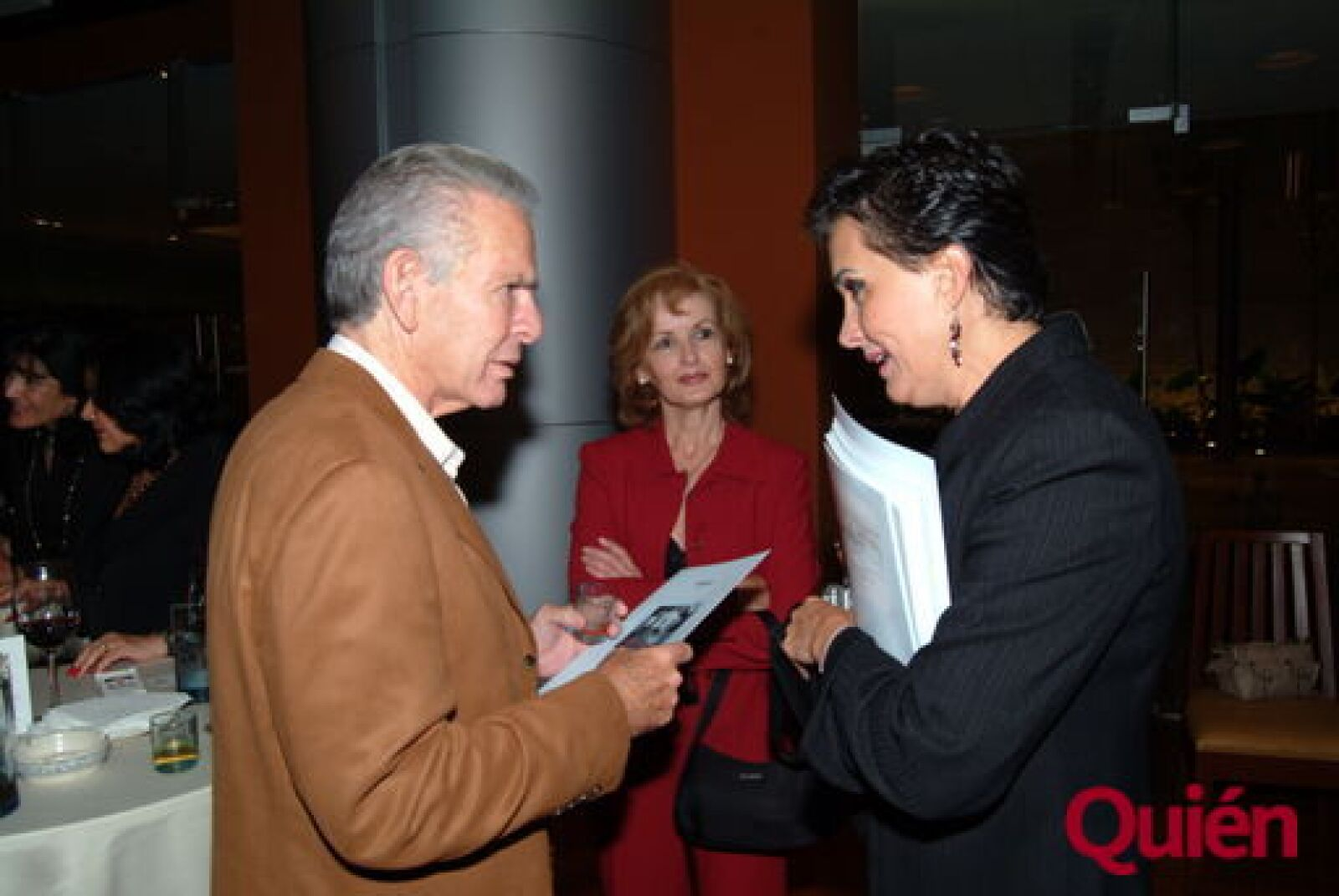 León Bessudo, Olivia Amieva, Claudia Pérez-Vedia