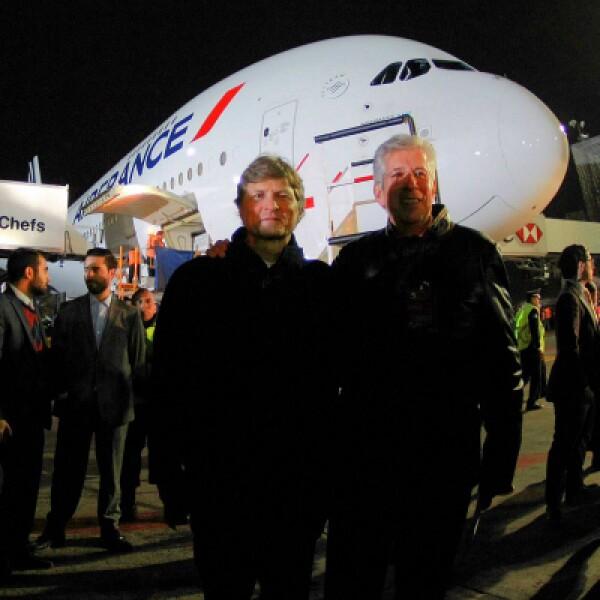 Gerardo Ruiz Esparza dijo que con este vuelo inicia una nueva etapa en la relación México-Francia.