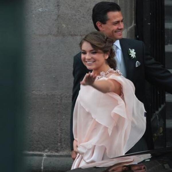 Sofía Castro Rivera y Enrique Peña Nieto