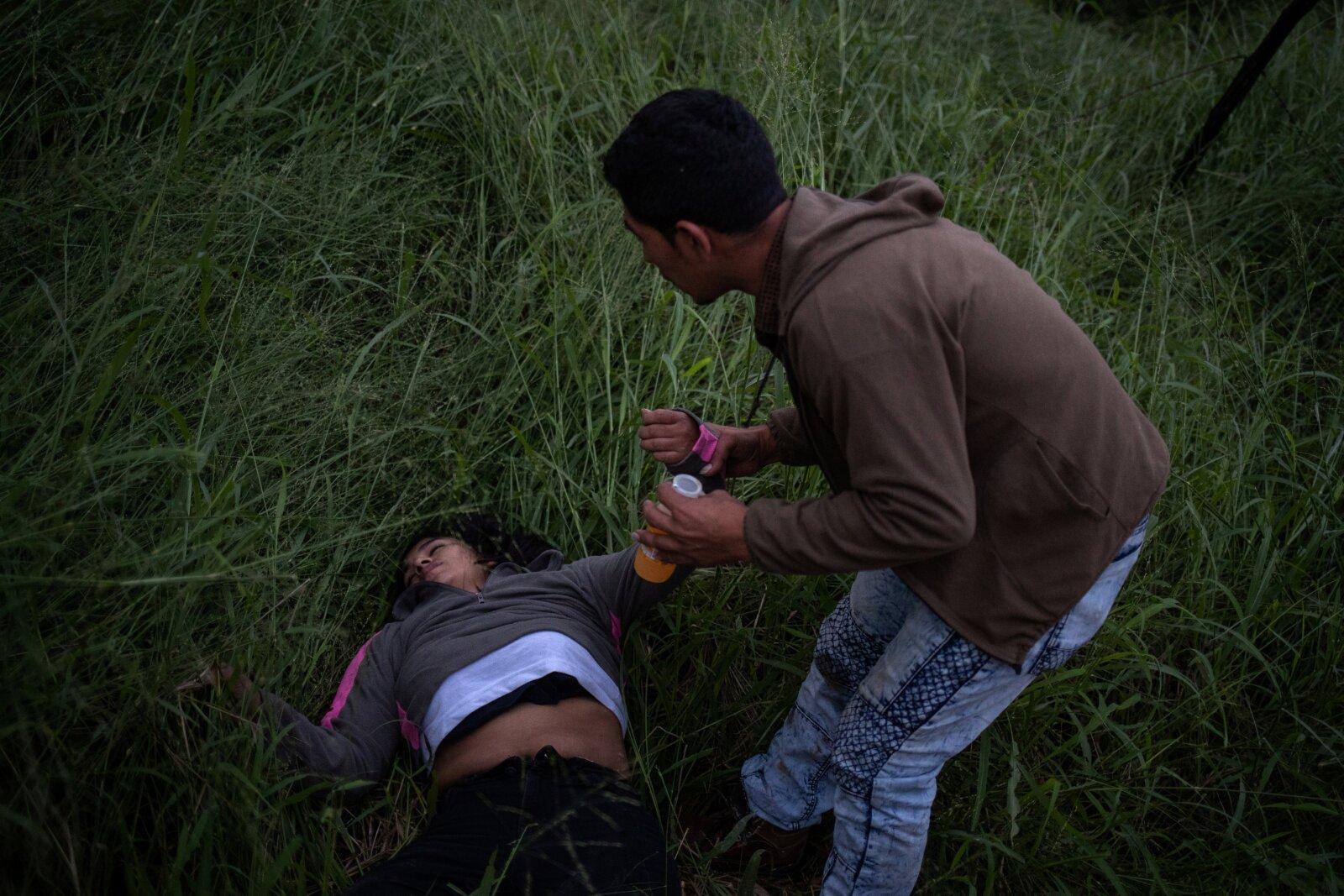 El camino no ha sido sencillo para los migrantes que huyen de la violencia en su país.