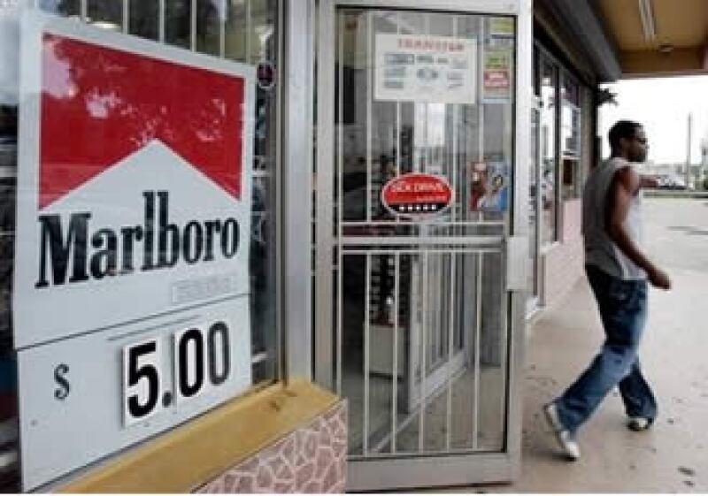 La marca Marlboro elevó su participación en el mercado a un 41.9%.  (Foto: AP)