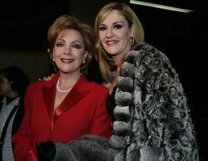 La primera actriz mexicana contó que se siente muy contenta en su faceta de abuela y que trata de disfrutar cada momento con su pequeña nieta.