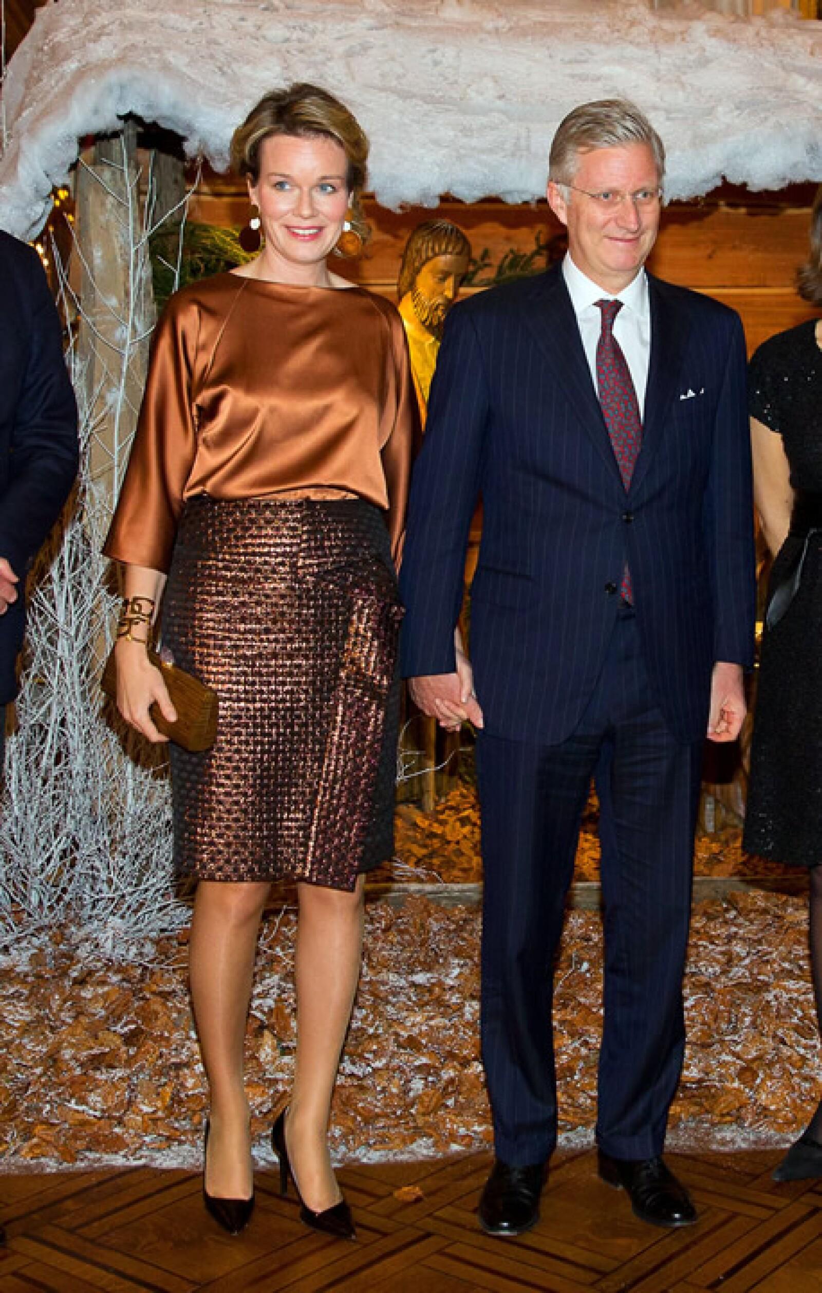 Normalmente Mathilde combina sus zapatos, su bolsa y sus sombreros.