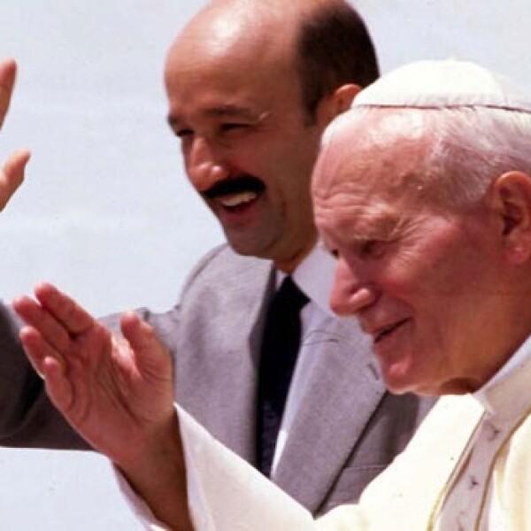 juan pablo ii mexico pontifice salinas papa