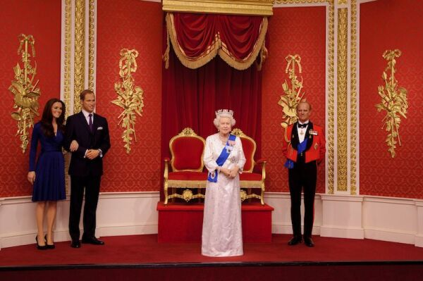 Queen Elizabeth II waxwork unveiled at Madame Tussauds, London, Britain - 14 May 2012