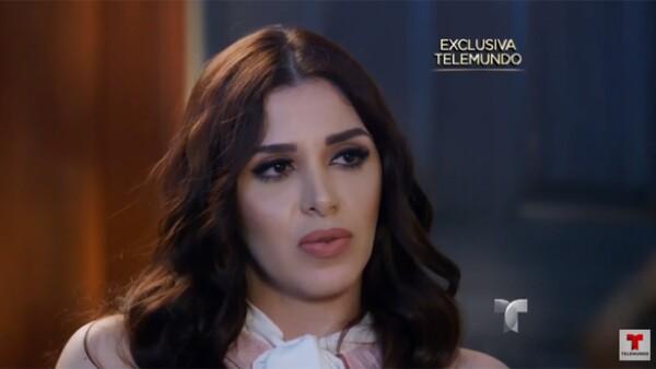 Emma Coronel Aispuro, esposa de Joaquín 'El Chapo' Guzmán desde hace ocho años, rompió el silencio al revelar cómo se siente respecto a todo lo sucedido entre el capo y la actriz.
