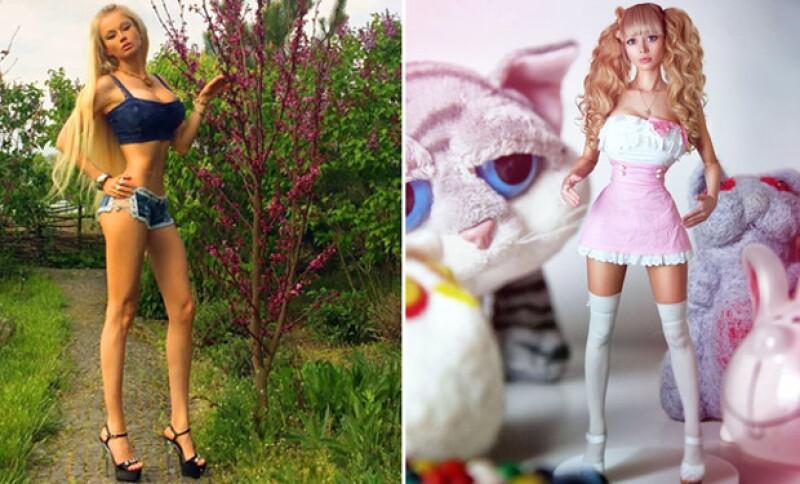 Por mucho tiempo, Valeria Lukyanova se ha mantenido como la Barbie Humana, pero ahora, Valeria Kenova ha salido a la luz como una muñeca al 100 por ciento, luego de confesar ser controlada por sus padres.