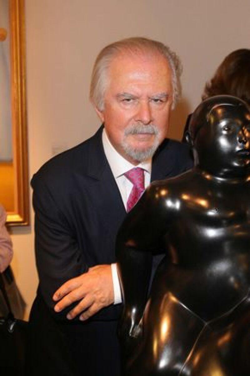 El pintor y escultor colombiano asegura que no debe impuestos en Italia.