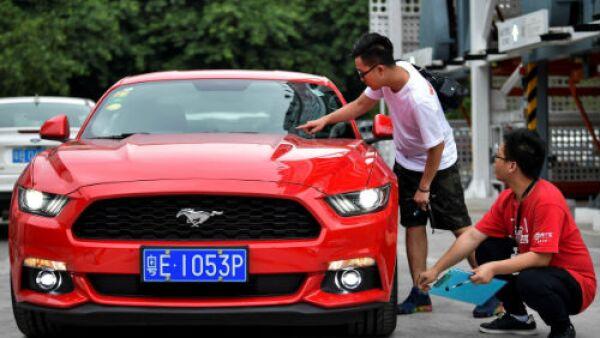 venta de autos en China