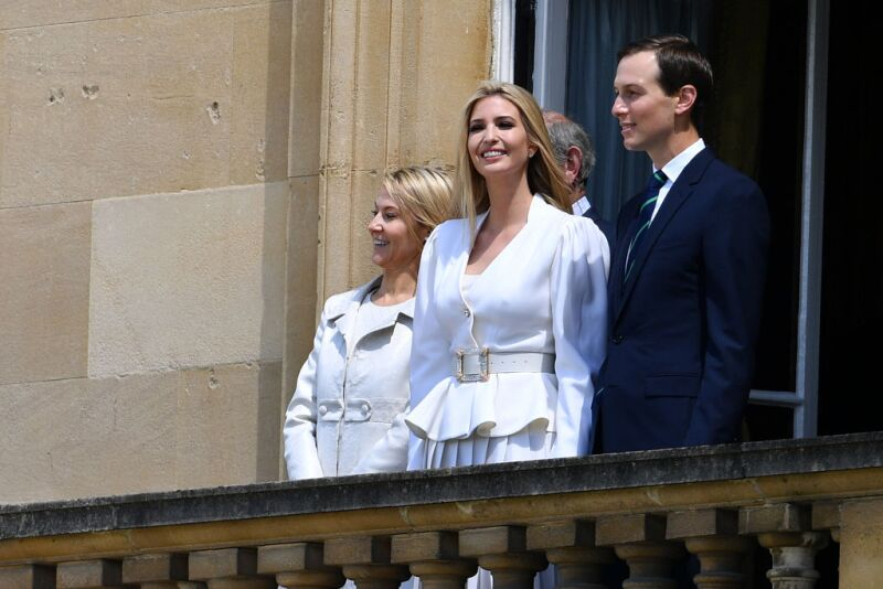 Ivanka Trump y su esposo Jared