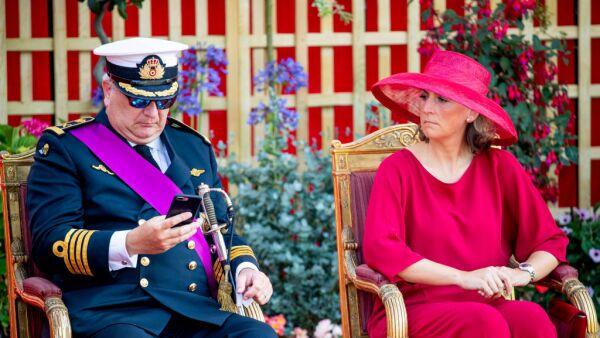 príncipe Laurent y Claire de Bélgica