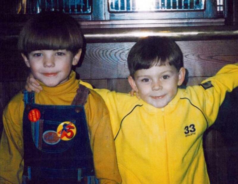Louis Tomlinson (izquierda) es fan de Robbie Williams desde su infancia.