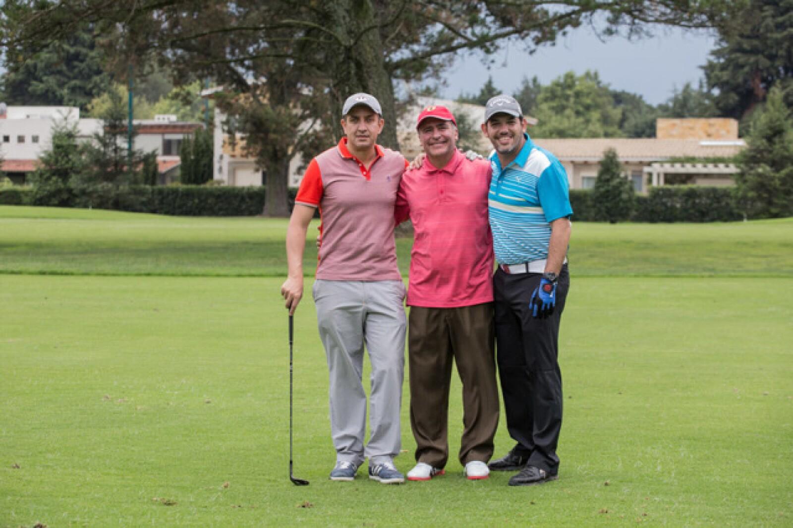 Mauricio Sánchez Bermudes, Eduardo Fernández y Héctor Romero