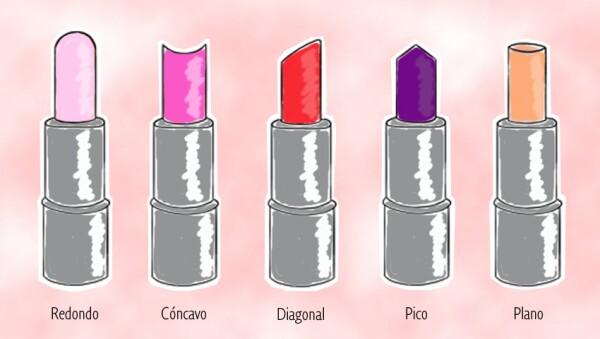 ¿Qué forma tiene tu lipstick?