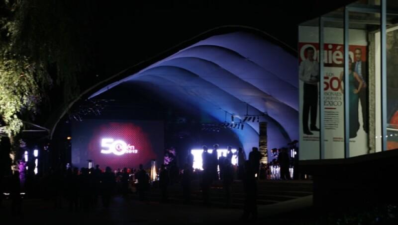 La gala se realizó en el Museo Rufino Tamayo.