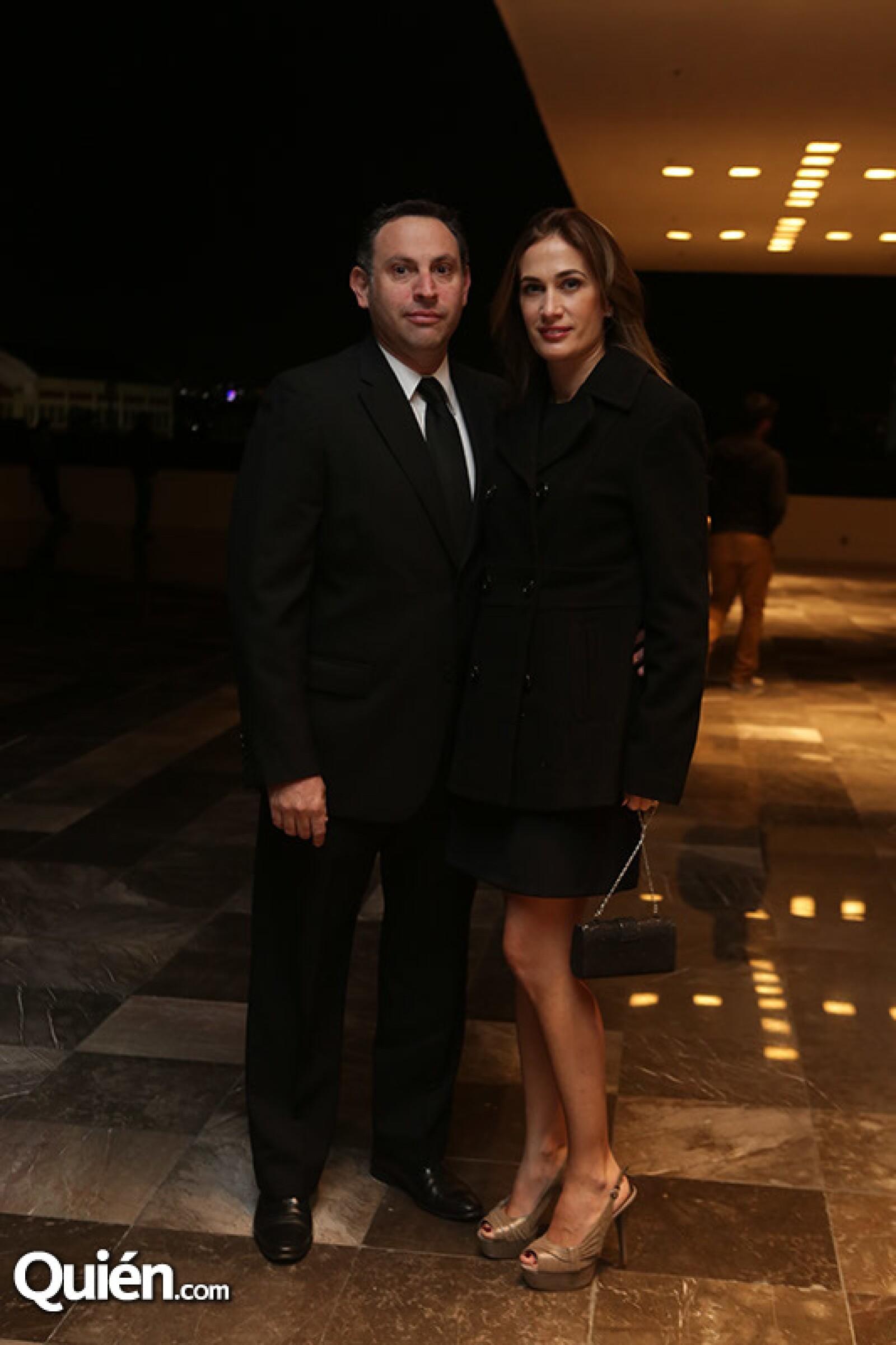Fedrico Saevich y Verónica Mas