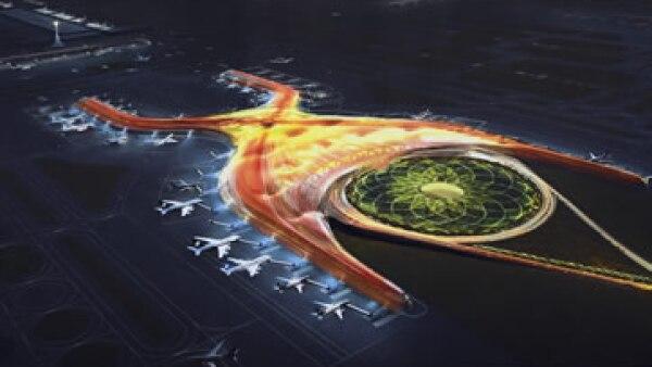 El nuevo aeropuerto tendrá una inversión de 120,000 mdp. (Foto: Cuartoscuro )