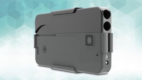 Pistola en forma de iPhone