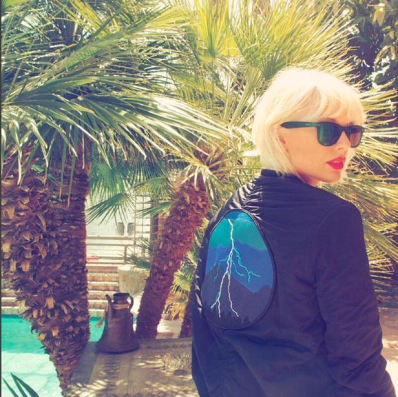 Taylor Swift acudió con este cambio de look al festival Coachella.