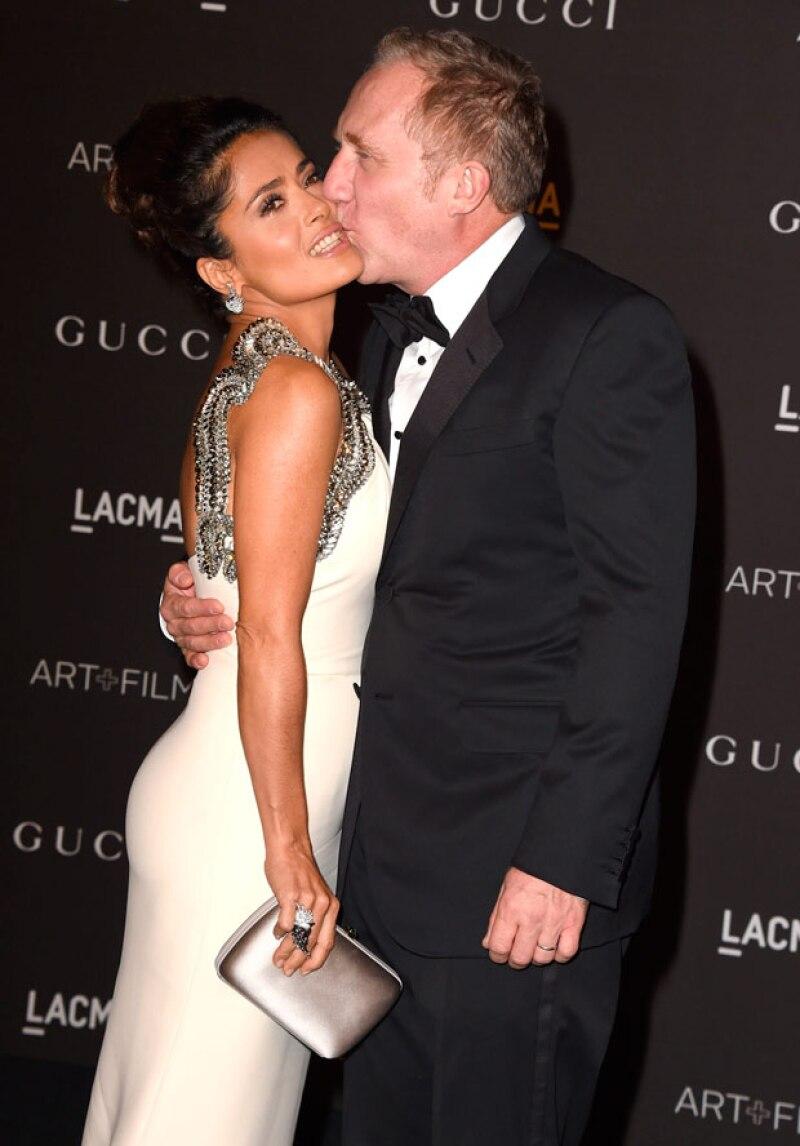 Salma ha estado felizmente casada con su propio príncipe francés.