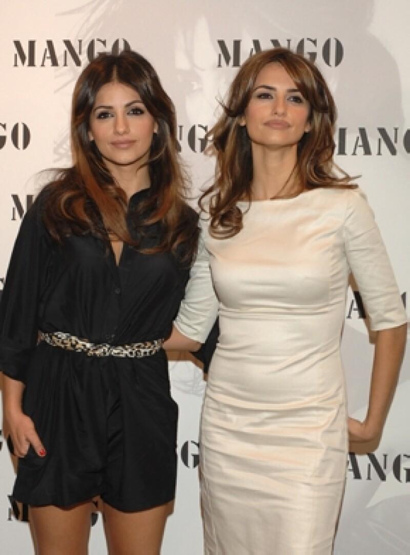 La bailarina y su hermana actriz tienen un gran parecido físico.