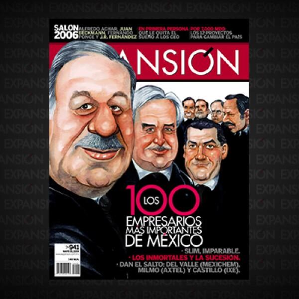 Este año se comparó a los empresarios por un índice de Poder Económico; una combinación de resultados, su balance, la actividad en Bolsa, el empleo que generan y las expectativas de mercado. Carlos Slim no abandona el pódium.