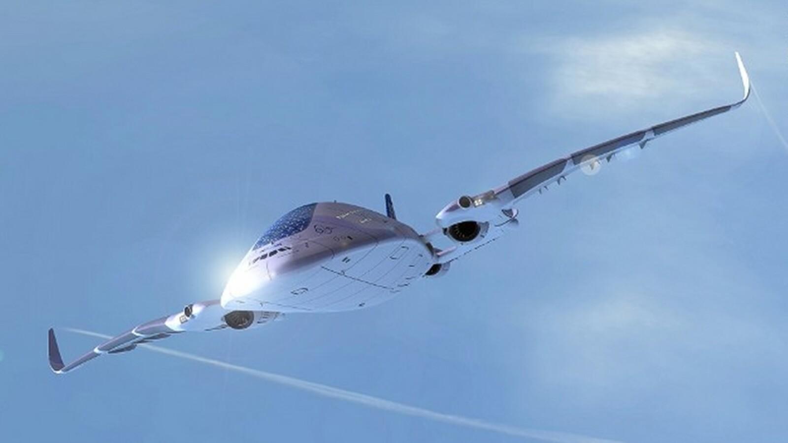 avion ecologico conocido como avion ballena