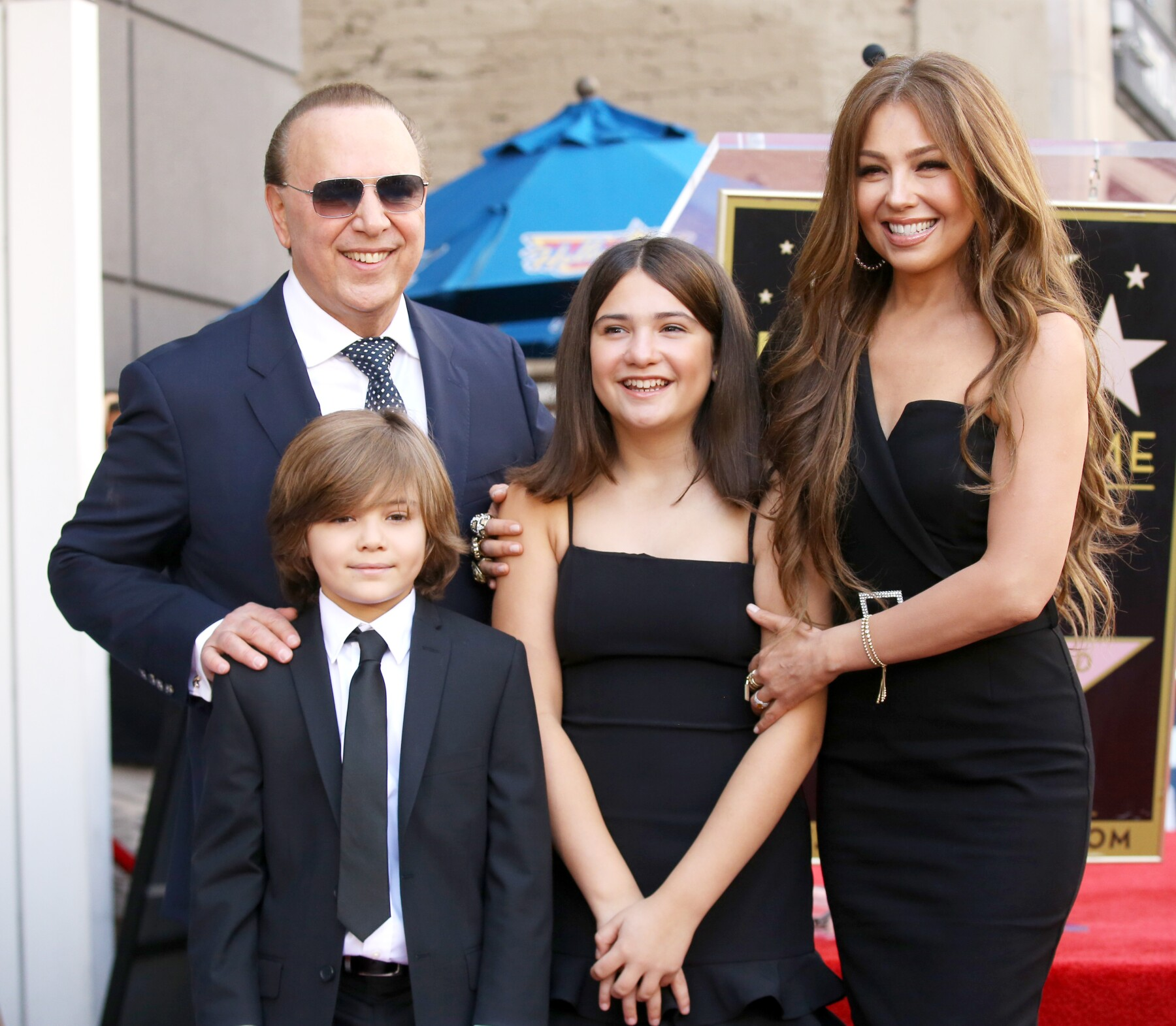 Tommy Mottola Honored With A Star On The Hollywood Walk Of Fame