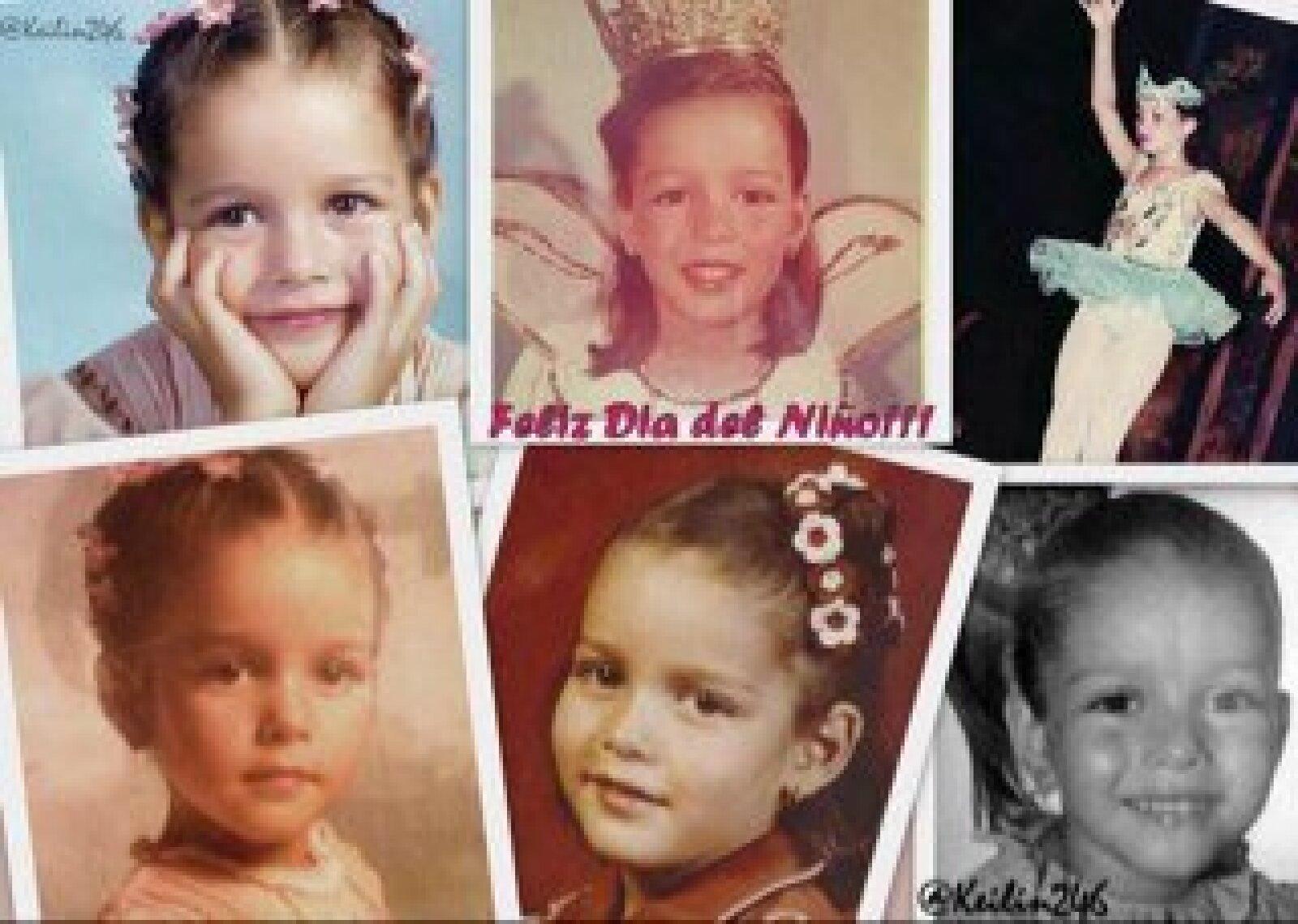 La actriz Adriana Fonseca compartió este collage