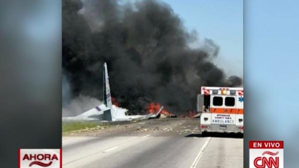 Un avión de la Guardia Nacional de Puerto Rico se estrella en Georgia