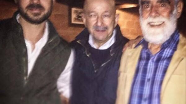El cumpleaños de Diego Fernández de Cevallos reunió a ex presidentes, personajes políticos, religiosos y de la farándula, quienes aparecieron en el Periscope de la jefa delegacional, Xóchitl Gálvez.