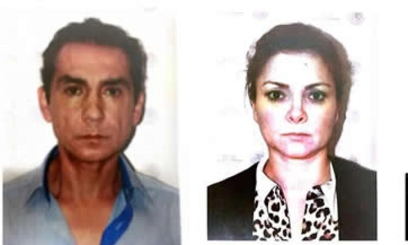 Abarca y Pineda fueron detenidos el martes en la Ciudad de México, según las autoridades. (Foto: Tomada de @PGR_mx )