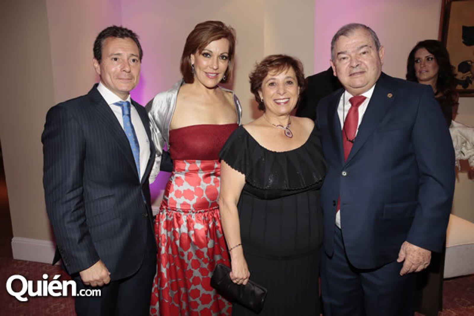 Alberto Peláez,Mónica Peláez,Patricia Atala de Elías,Edgar Elías Azar