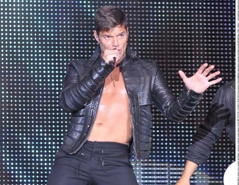 Ricky Martin tiene lista la segunda etapa de su gira por Latinoamérica.