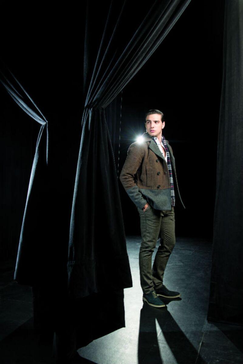 A sus 23 años, Vadhir Derbez es el protagonista del musical de Rock of Ages, el musical de Broadway.