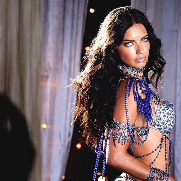 Junto con Alessandra Ambrosio, en la pasarela de Victoria`s Secret del 2014, Adriana Lima usó el famoso Fantasy Bra.